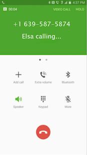 call from Elsa prank