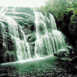 Baker's Fall by Dulshan Ariyarathne - Nature Up Close Natural Waterdrops