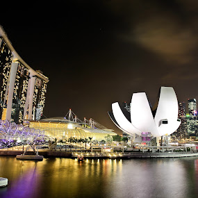 Marina Bay Sands, Singapore by Handoko Lukito - Buildings & Architecture Architectural Detail