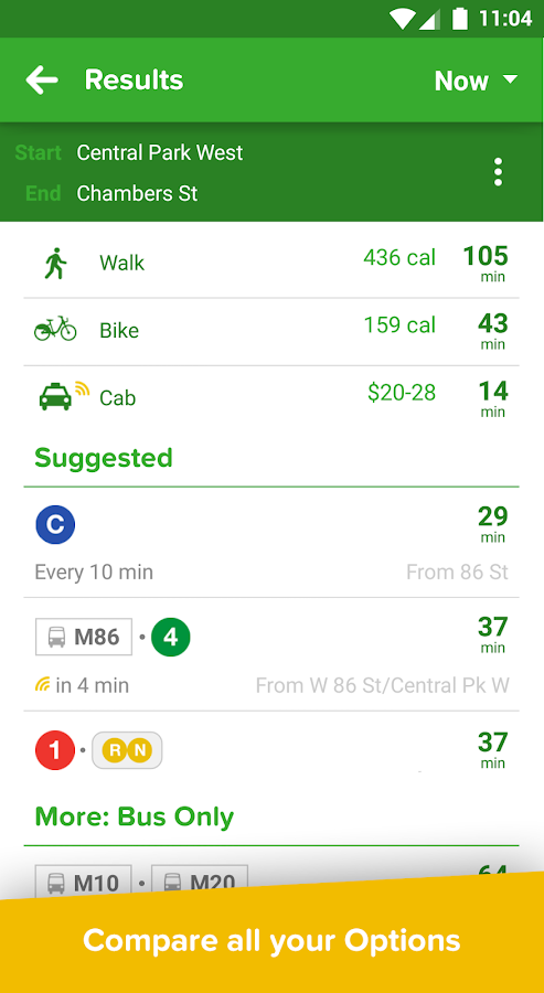 Citymapper Screenshot 2