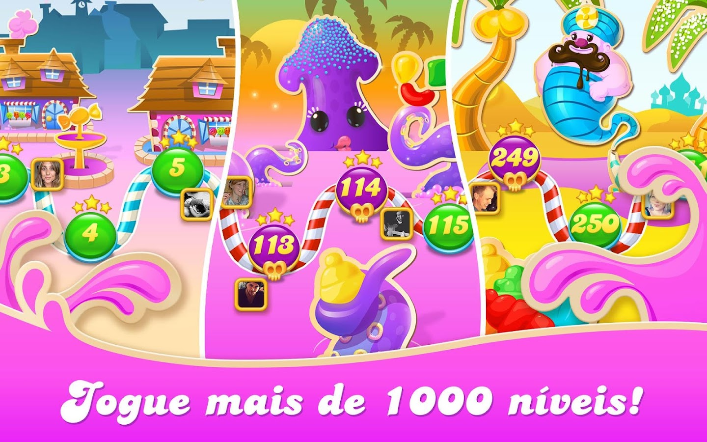 Candy Crush Soda Saga: captura de tela