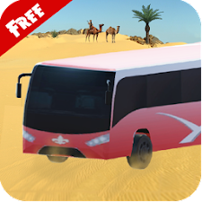 3D Desert Safari Tour Bus