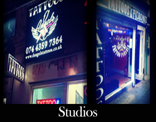 Other Artists | Tattoo Artists in London | D'Angel's Tattoos