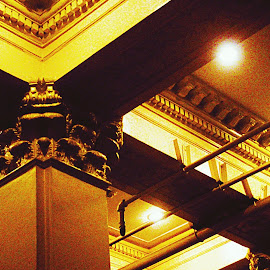 column by James Ramirez - Buildings & Architecture Architectural Detail ( window, columns, door, architectural detail, architecture )