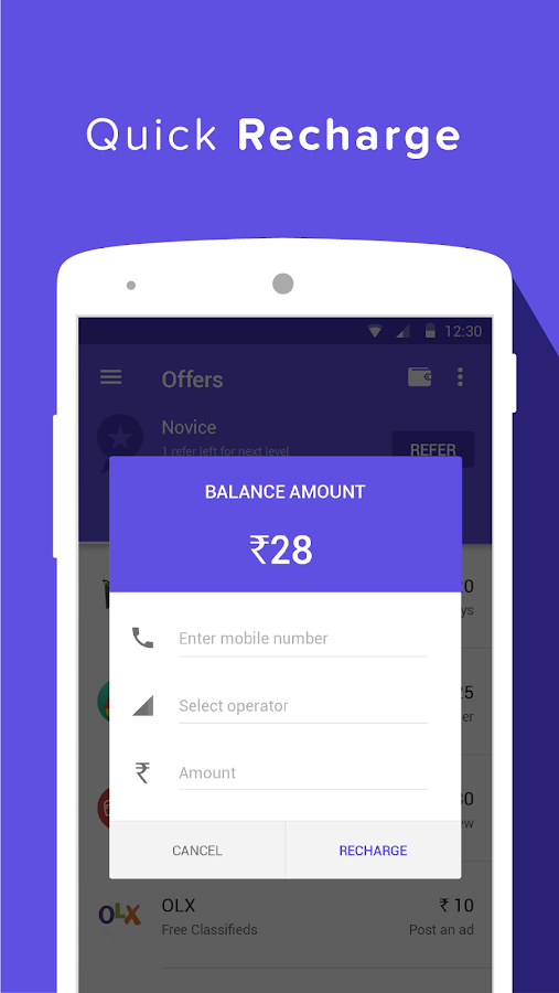 Grappr - Earn Talktime Rs.300 Screenshot 4
