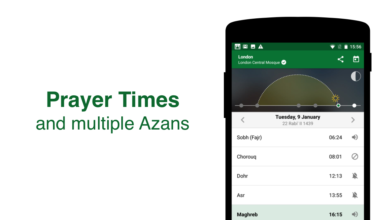 Muslim Pro - Prayer Times, Azan, Quran & Qibla Screenshot 6