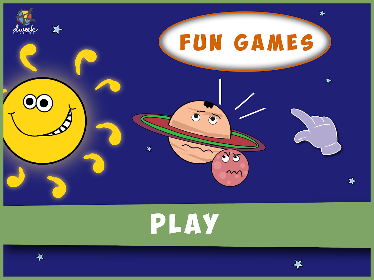 Solar Family - Kids Story Game Screenshot 11