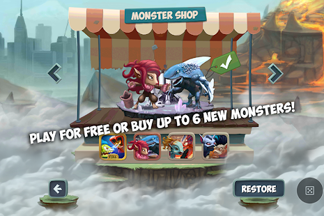 Monster Shake 1.3 - screenshot