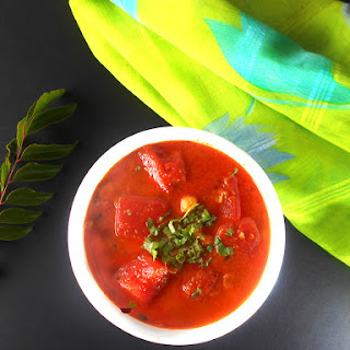 Watermelon Curry (Rajasthani Style)