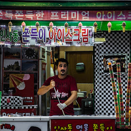Turkish store by Iordan Daniel Teodorescu - People Street & Candids ( store, colors, seoul, insadong, turkish )