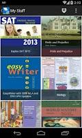 Screenshot of Intel® Education Study App