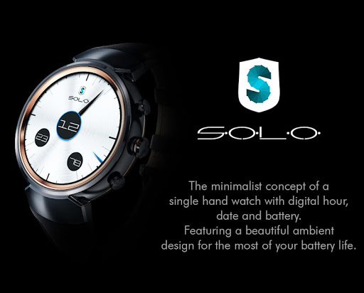 SOLO for WatchMaker Apk Download Free for PC, smart TV