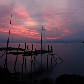 Ujong Pancu by Riza Umary - Landscapes Sunsets & Sunrises