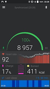 Mi Band Master Fitness app screenshot 1 for Android
