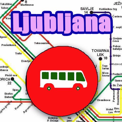 Android aplikacija Ljubljana Bus Map Offline na Android Srbija