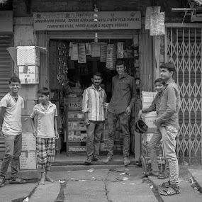 Urban Boys by Boodesh Ganeshkumar - City,  Street & Park  Street Scenes ( urban, happy, boys, street, people )