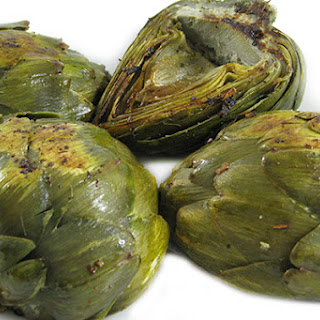 Fiber Rich Artichokes Sauteed in Low Fat Garlic Butter