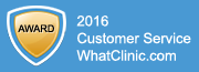 2016 Award Customer Service WhatClinic.com