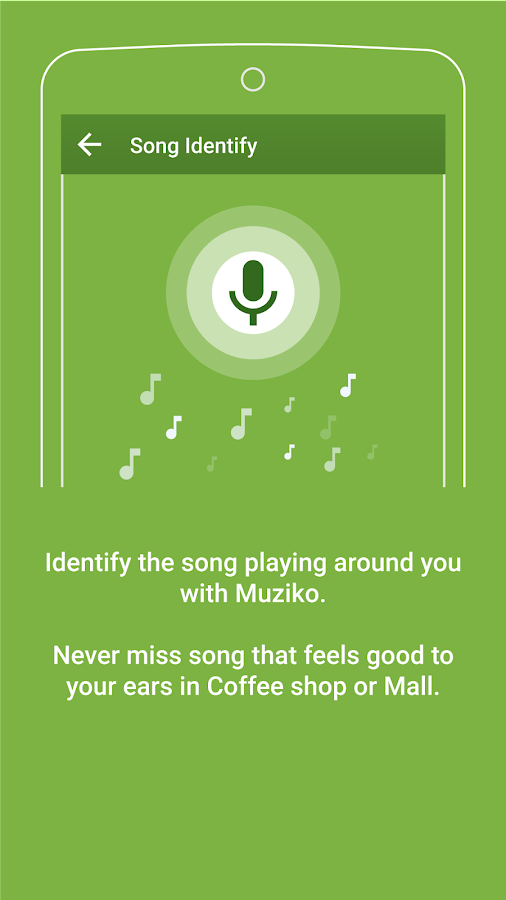 Muziko Music Player Screenshot