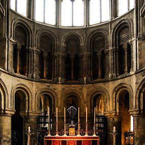silence moment by Balan Gratian - Buildings & Architecture Architectural Detail ( st bartolomew church, church, london, london church, london history )