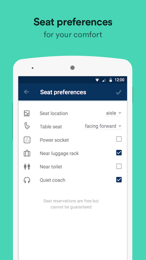 Trainline – times & tickets Screenshot 5