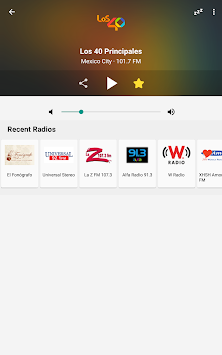 Radio México APK screenshot thumbnail 10