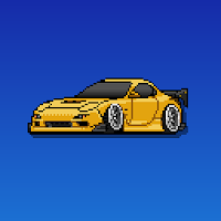 Pixel Car Racer For PC (Windows And Mac)