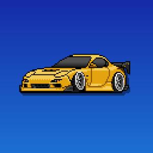 Cover art Pixel Car Racer