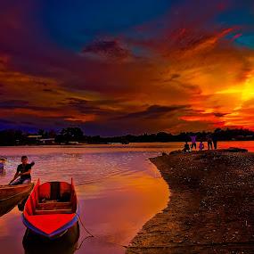 Kampung Batu Putih Sandakan by Armie YS Yusop Teppo - Landscapes Sunsets & Sunrises