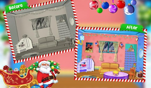 My christmas room decoration apk 1 0 2 free casual games for Xmas room decor games