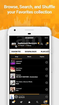 Audiomack Mixtapes & Music App APK screenshot thumbnail 5