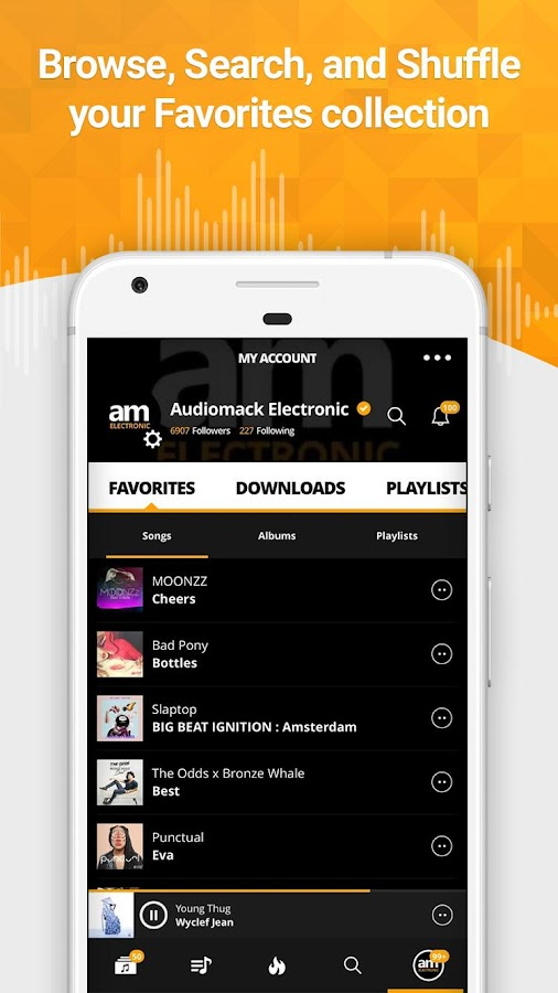 Audiomack Mixtapes & Music App Screenshot 4