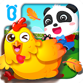 Free Download Baby Panda's Farm - Kids' farmville APK for Samsung