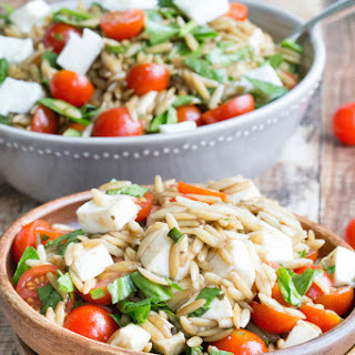 Mozzarella Orzo Salad Recipes