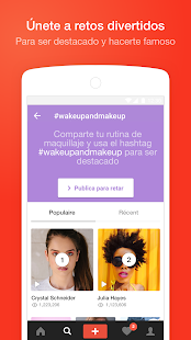 Flipagram - Enfoca tu talento Screenshot