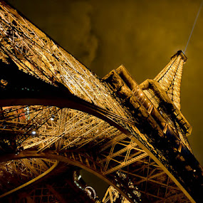 The Eiffel Tower by Victor Harris - Travel Locations Landmarks ( pwclandmarks,  )