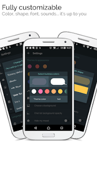 Mood Messenger - SMS & MMS APK screenshot thumbnail 2