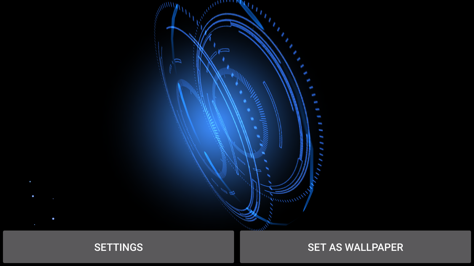 Abstract Gyro  Live Wallpaper Screenshot 10