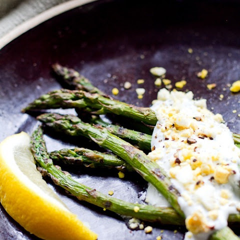 Asparagus with Greek Yogurt