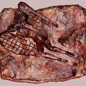 Fallen Angel by Leif Holmberg - Artistic Objects Other Objects ( angel, sculpture, nude, fallen angel, art )