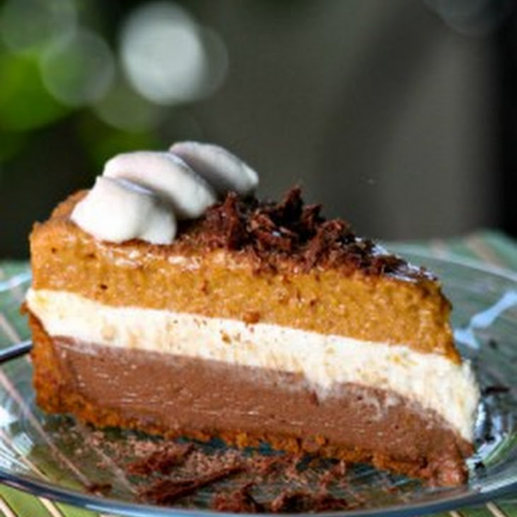 Chocolate Pumpkin Mousse Pie Recipe | Yummly