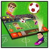Head Ball Keyboard Theme APK for Bluestacks