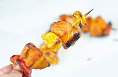 how to make fish tikka