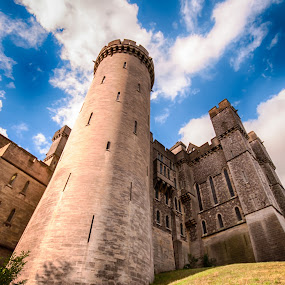 Arundel Castle by Mike Woodford - Buildings & Architecture Public & Historical ( safety, ancient, castle, historic, turret,  )