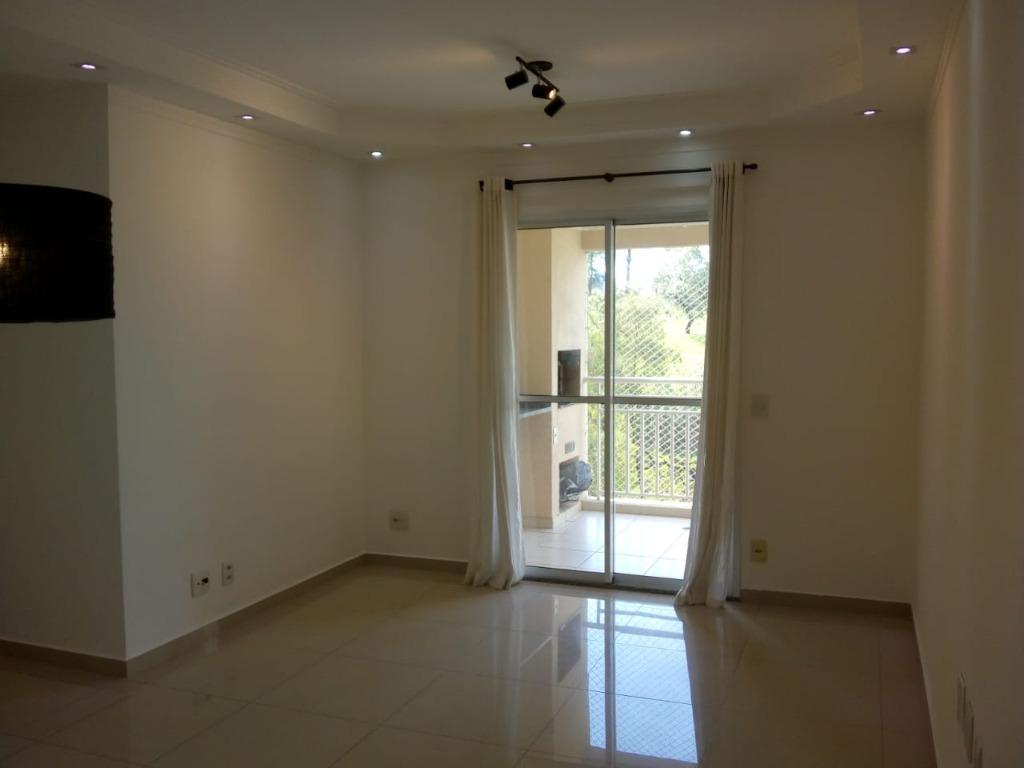 Apartamento 85m, 3 Dormitórios, Suite, Varanda Gourmet com churrasqueira, Frente ao Parque, Condomínio Parque Barueri