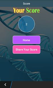 Biology Test ! - Biology Quiz - screenshot
