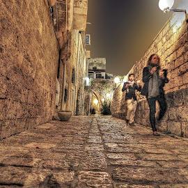 Jaffa by Dong Leoj - City,  Street & Park  Street Scenes ( city )
