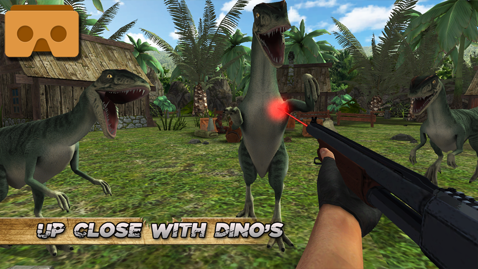 Jurassic Hunter Primal VR & TV Screenshot 0