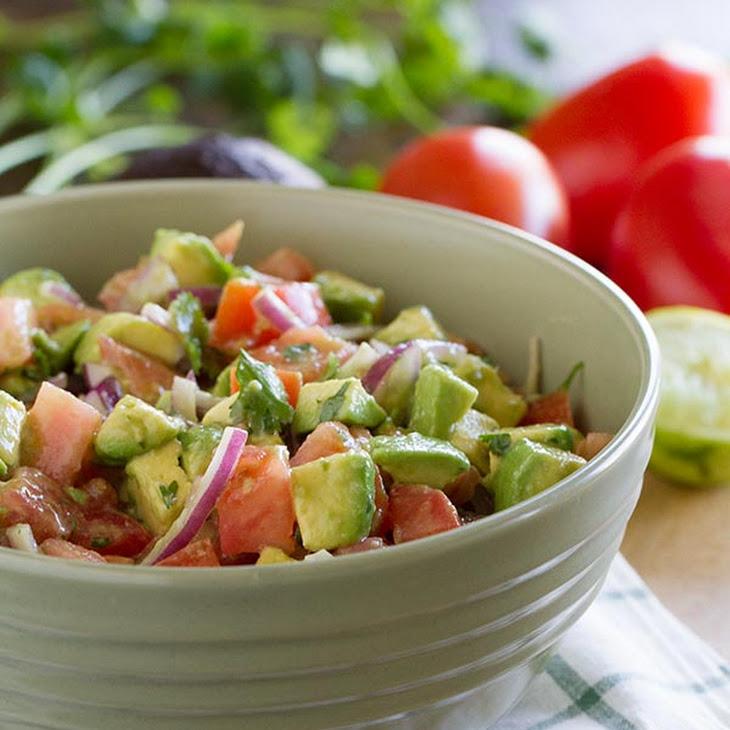 Avocado and Tomato Salad Recipe | Yummly