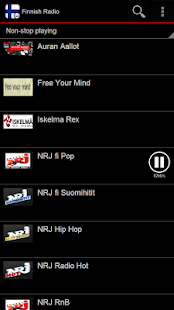 Finnish Radio Pro - screenshot